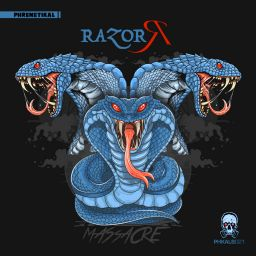 Razor R - Massacre - Phrenetikal Records - 46:00 - 05.01.2020
