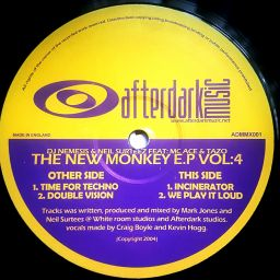 Neil Surteez - New Monkey EP Vol: 4 - ADM - 25:01 - 21.04.2004