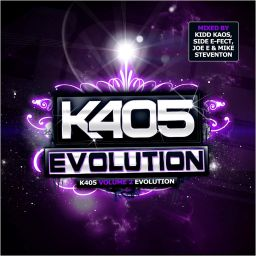 Kidd Kaos, Mike Steventon, Side E-Fect & Joe E - K405 Evolution - K405 Records - 03:15:05 - 23.01.2012