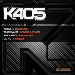 Kidd Kaos - Colour & Vision - K405 Records - 34:26 - 18.02.2012