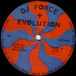 Dj Force & The Evolution - Twelve Midnight E.P - Kniteforce Records - 11:00 - 09.01.1993