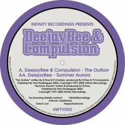 DeejayBee & Compulsion - The Outlaw / Summer Aurora - Infinity Recordings - 12:18 - 01.10.2004
