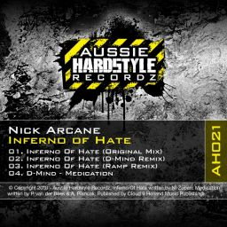 Nick Arcane - Inferno of Hate - Aussie Hardstyle - 24:14 - 22.06.2010