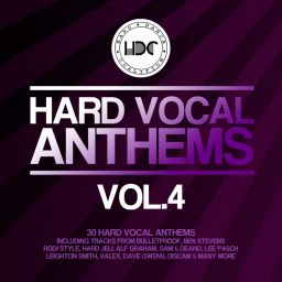 Various Artists - Hard Vocal Anthems, Vol. 4 - Hard Dance Coalition - 06:40:05 - 31.01.2018