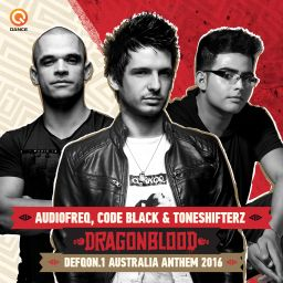 Audiofreq, Code Black and Toneshifterz - Dragonblood (Defqon.1 Australia Anthem 2016) - Q-dance Records - 12:00 - 09.09.2016