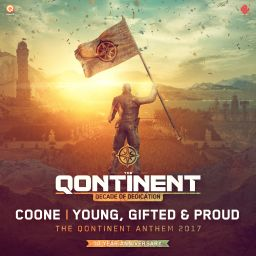 Coone - Young, Gifted & Proud (The Qontinent Anthem 2017) - Q-dance Records - 08:25 - 21.07.2017